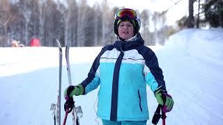 Инструктор по горным лыжам на горнолыжном курорте Алтайские Альпы