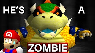 How Bowser Accidentally Became a Zombie in Super Mario 64