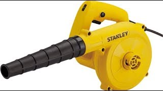 Мощный ветродув STANLEY STPT600,реально суперская машина
