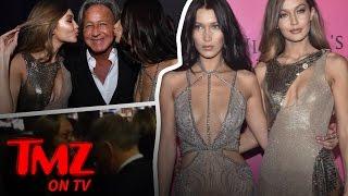 Gigi and Bella: Let Our Dad Into The Victoria Secret After Party | TMZ TV