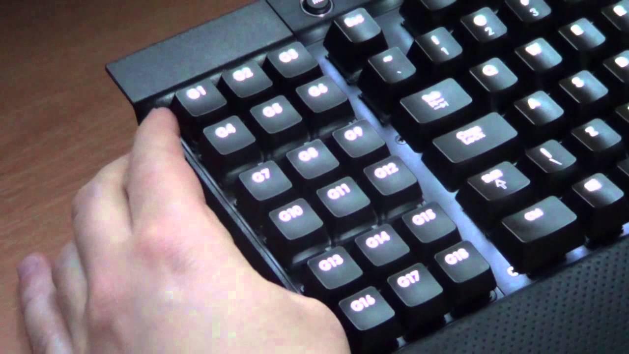 Corsair K95 Venegance - not for gamers only! Example of use macro keys