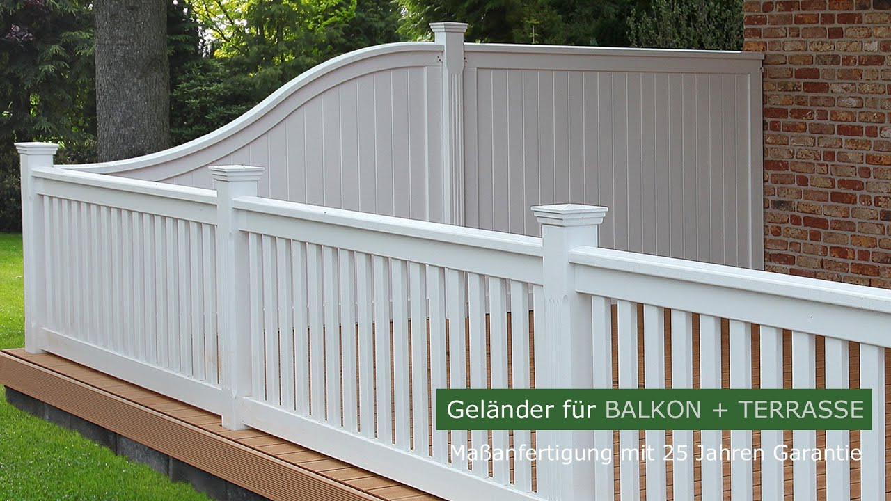 holzbalkon hartholz wei balkongel nder dachterrasse 25 jahre garantie. Black Bedroom Furniture Sets. Home Design Ideas