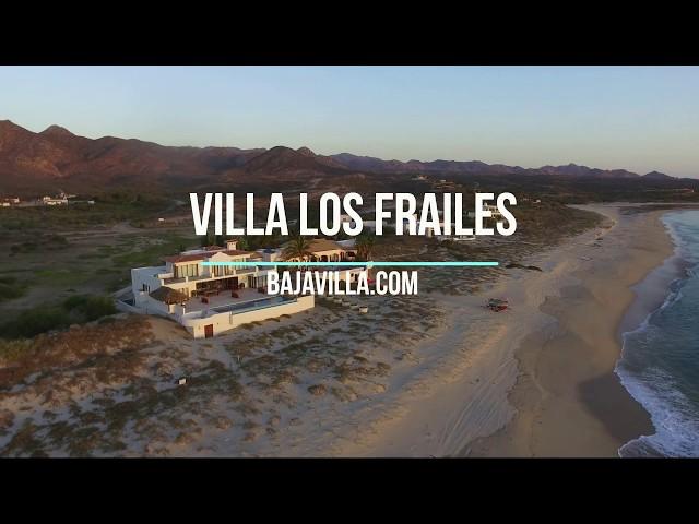 Villa Los Frailes - Baja Mexico - Aerial Tour @ BajaVilla.com