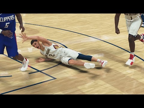NBA 2K20 My Career EP 18 - Lonzo Ball Falls!