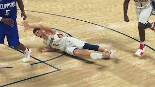NBA 2K20 My Career EP 18 - Lonzo Ball Falls!