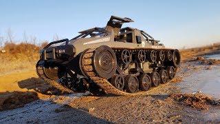 Ripsaw Super Tank SG 1203 ... Смотри на что он способен радиоуправляемый танк !