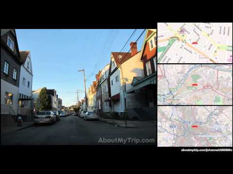 Copeland St (Shadyside, Pittsburgh, PA) to Liberty Ave (Bloomfield)