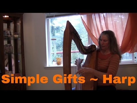 Simple Gifts ~ Celtic Harp