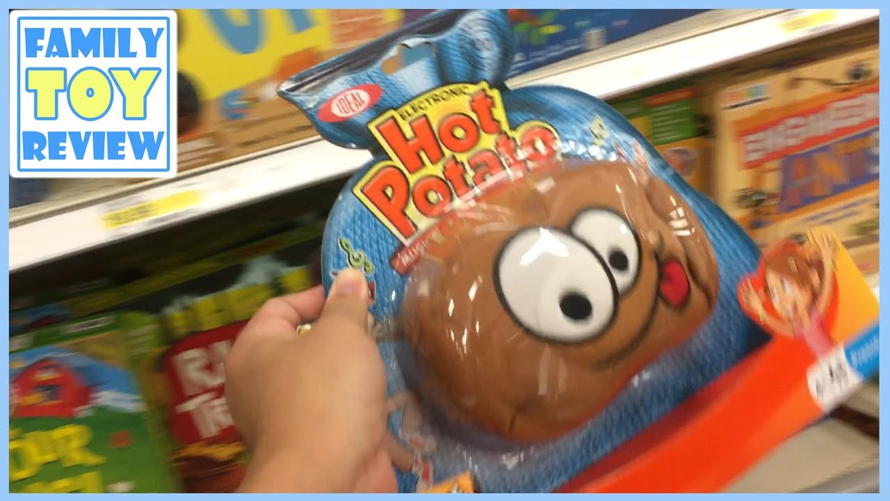 TOYS HUNT - BOARD GAMES for Kids - Hot Potato, Hungry Hungry Hippos ...