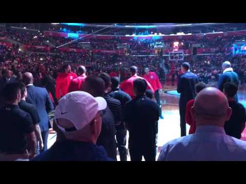 Los Angeles Clippers Pregame Intro