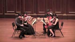 """Dutilleux """"Ainsi la Nuit"""" String Quartet - Gioviale Quartet"""
