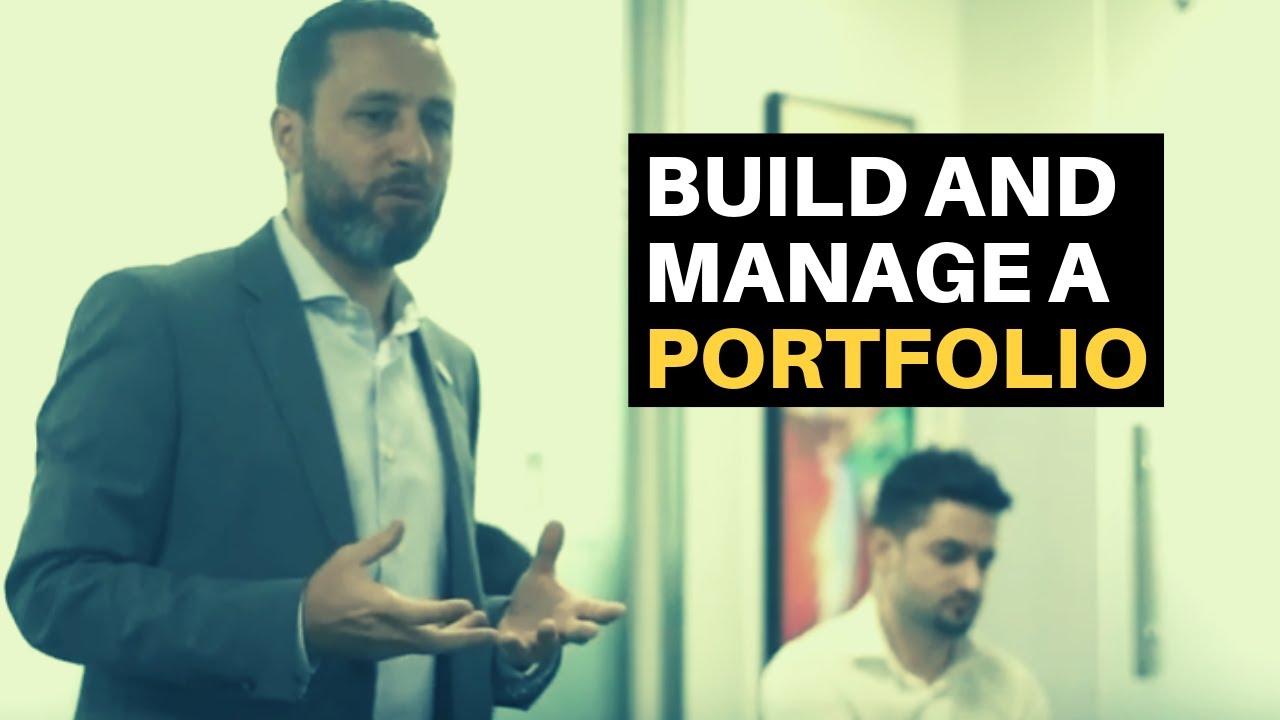 Build and manage a portfolio