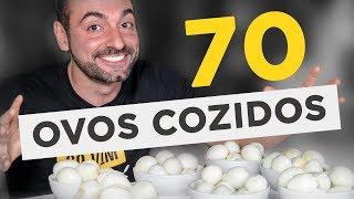 Desafio dos 70 ovos cozidos!! (~4kg)