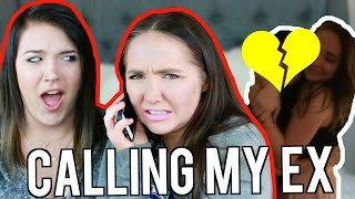 PRANK CALLING MY EX BOYFRIEND | Kenzie Elizabeth