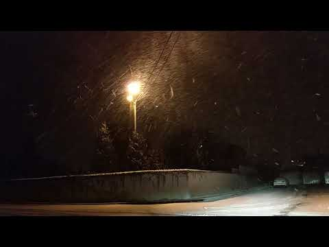 Heavy snowfall in Trebisov, Weather in Slovakia 5