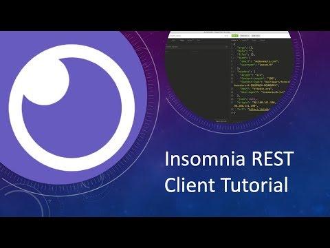 Insomnia REST Client Tutorial