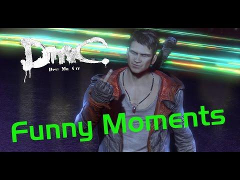 DmC: Devil May Cry Funny Moments [RU]  