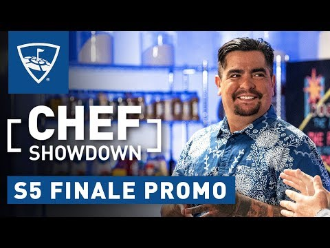 Chef Showdown | Season 5: Finale Promo - Aarón Sánchez and Scott Conant Reunite | Topgolf