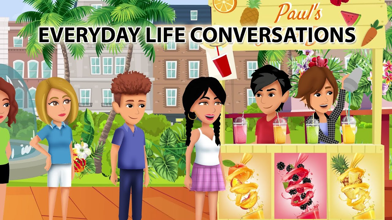 Download Everyday Life English Conversations 2