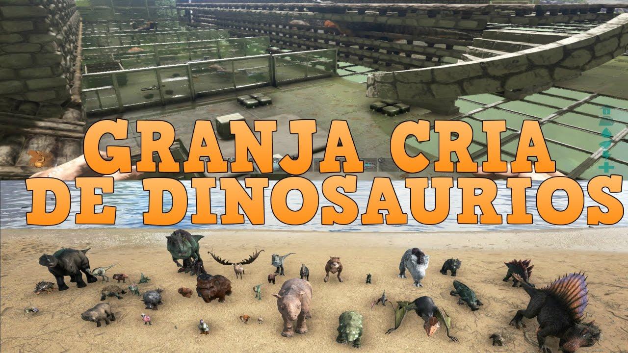 Ark granja para criar dinos youtube ark granja para criar dinos malvernweather Image collections