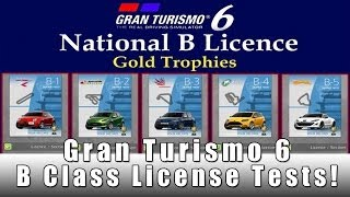 Gran Turismo 6 Lets Play Ep 3 B License Testing