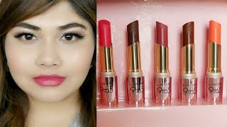Lakme 9to5 Primer Matte Lipstick Review