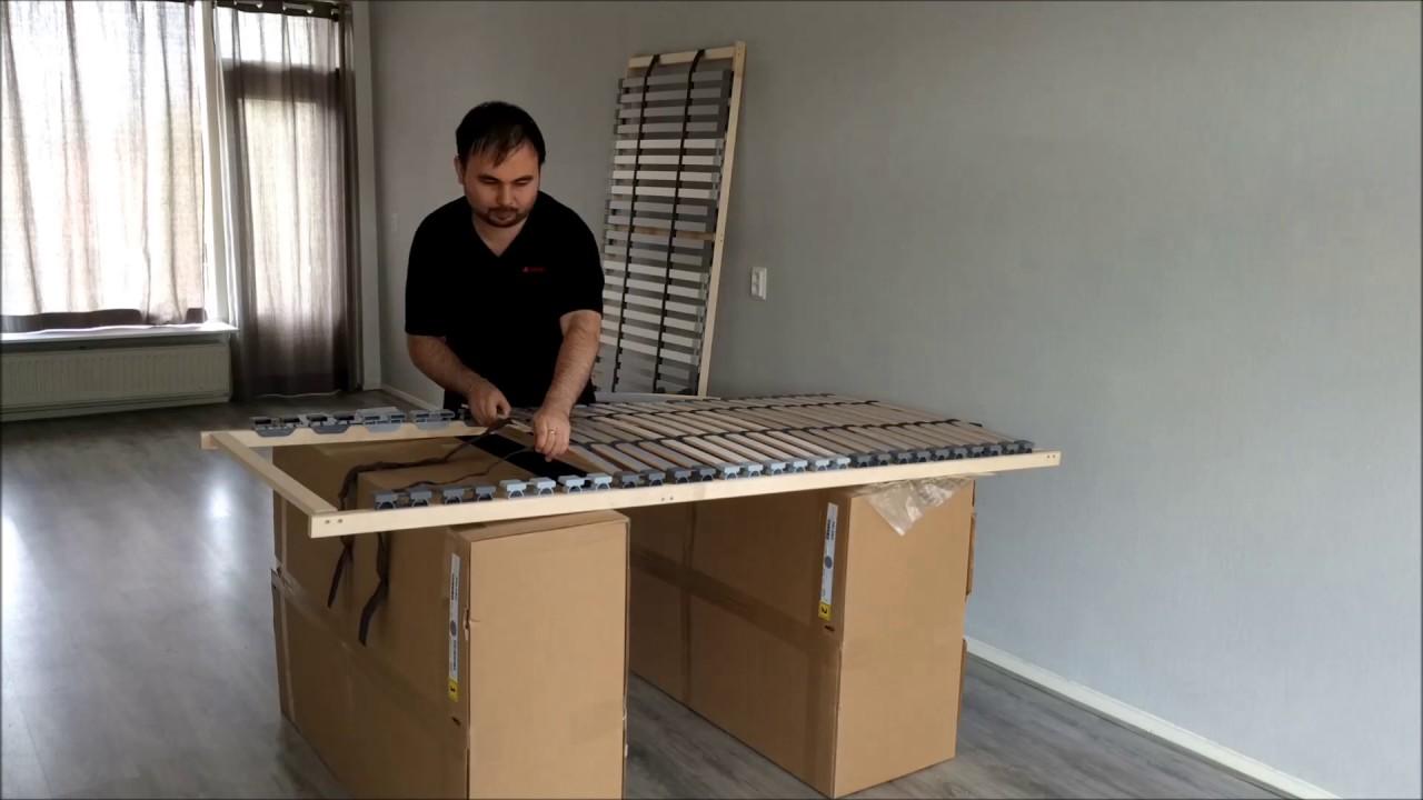 assembling l nset from ikea timelapse youtube. Black Bedroom Furniture Sets. Home Design Ideas