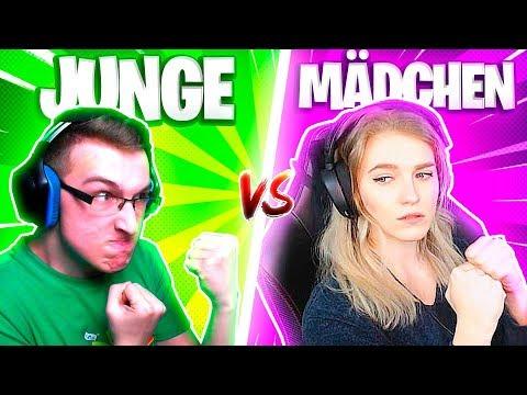 JUNGE vs. MÄDCHEN: WER GEWINNT?! - FORTNITE