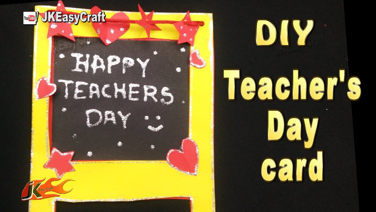 Diy easy chalkboard card for teachers day jk easy craft 190 diy easy chalkboard card for teachers day jk easy craft 190 teachersday greetingcard youtube jeuxipadfo Image collections