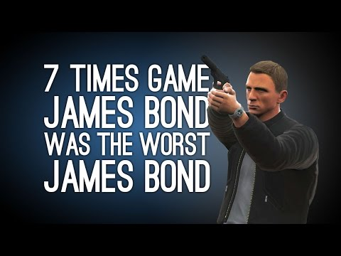 007 Times Videogame James Bond Was The Worst James Bond