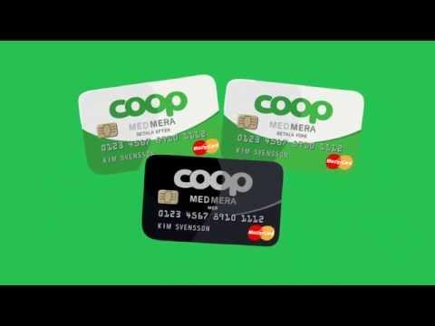 Coop MedMera Betalkort