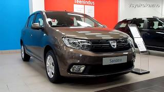 Renault Sandero (DACIA) НОВЫЙ 0.9,5МТ,90 л.с. 2017 : конкурент LADA XRAY ?