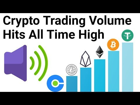 what cryptocurrency is trading high volume today