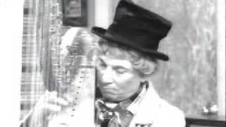 "Harpo plays ""Take me out to the ball game"" on I love Lucy"