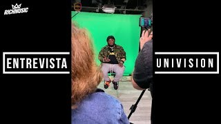 Sech Entrevista con Univision (IGTV)