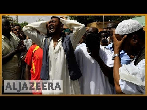 Sudan unrest: Funerals held for protesters