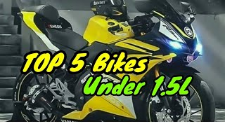 Top 5 bike under 1.5 lakh in India 2019