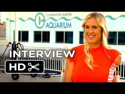 Dolphin Tale 2 Interview - Bethany Hamilton (2014) - Harry Connick, Jr Dolphin Drama HD