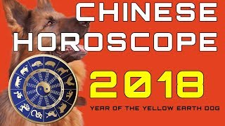 Chinese Horoscope 2018 – Year of the Earth Dog