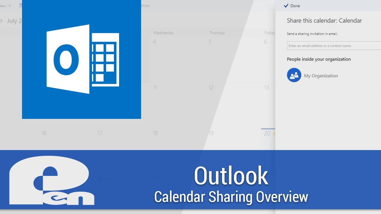 Outlook Calendar Sharing.Outlook Calendar Sharing Overview Office 365