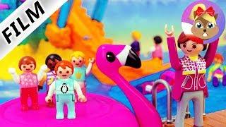 Playmobil Film polski | PRZEDSZKOLNA wycieczka do aquaparku POLLY POCKET | Serial Wróblewscy