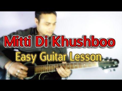 Ayushmann | Mitti Di Khushboo Guitar Lesson | Learn Guitar | VGuitarlearning | Easy Guitar Tutorial