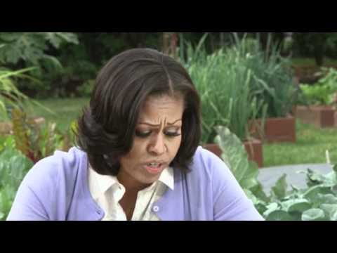 Michelle Obama Discusses Sugary Drink Ban