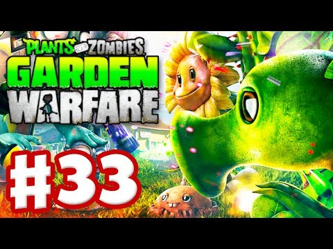 Plants vs. Zombies: Garden Warfare - Gameplay Walkthrough Part 33 - Hard Garden Ops (Xbox One)
