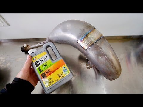 DOES THIS WORK? CHEMICAL RUST REMOVAL & DENT REMOVAL