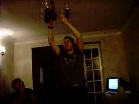 Swinging from a chandelier youtube swinging from a chandelier mozeypictures Gallery
