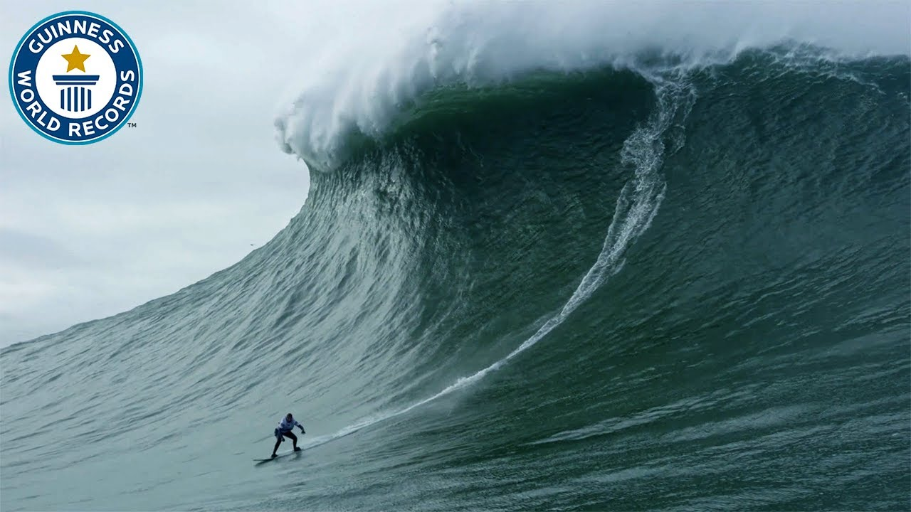 Download Largest wave surfed - Guinness World Records