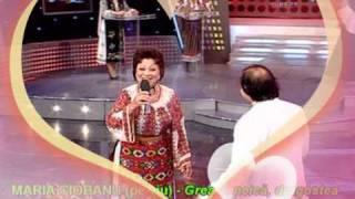 MARIA CIOBANU (pe viu/live) - Grea e, neică, dragostea (2oct09, direct, TvR1); MARIACIOBANU.org