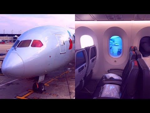 American Airlines | Boeing 787-8 | Main Cabin Extra | Chicago - London Heathrow