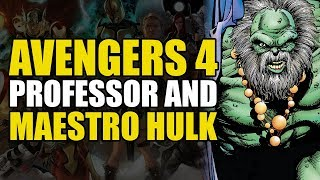Avengers 4: Maestro Hulk & Professor Hulk